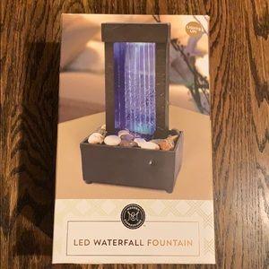 New LED Waterfall Fountain